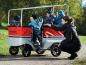 Preview: Winther Kinderbus E-Turtle mit Motor für 6 Kinder