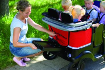 Winther Kinderbus Turtle De Luxe für 4 Kinder 800